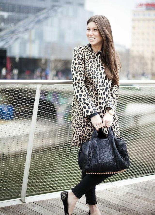 Zara mantel animal print  Neue stilvolle Jacken