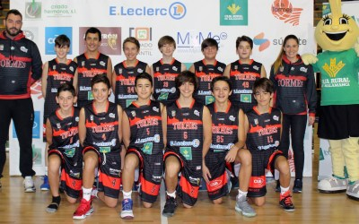 Infatil Elecler Caja Rural Negro VS CB Palencia