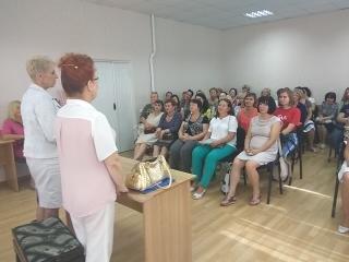 Під час лекцій і майстер класів у Кам'янському музичному училищі (20.09.2018)