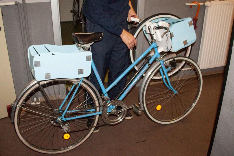 Kuhna je tudi prostor za izdelavo kolesarskih projektov.