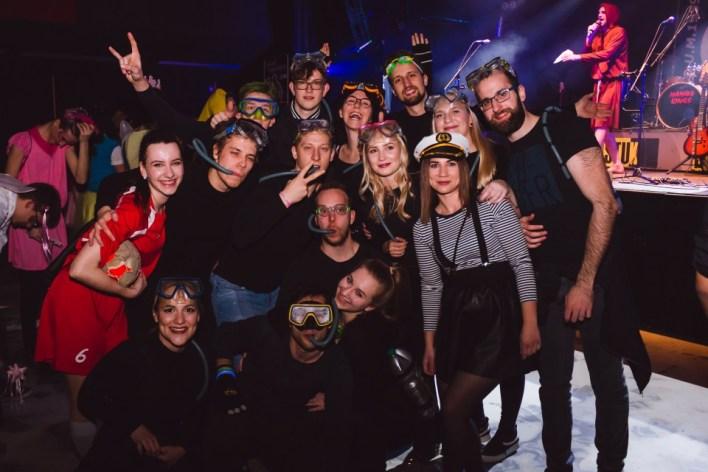 Študentsko pustovanje 2019 - Zmagovalna skupinska maska