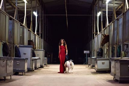 Emmanuelle Vaugier actor photo shooting 2015
