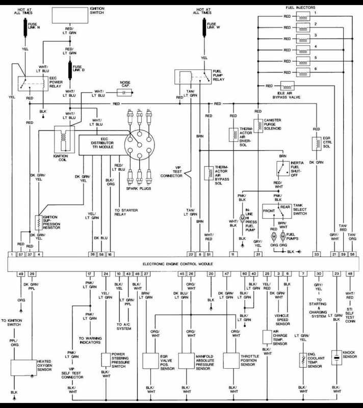 [DIAGRAM] Ford F150 1989 Wont Start Crank Ok Wiring