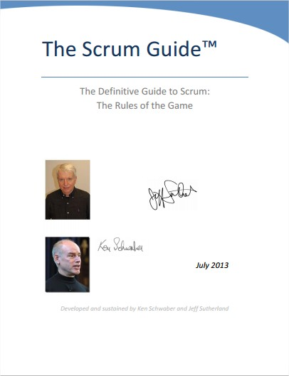 Official Scrum Guide