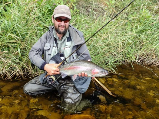 Martin Droz, world fly fishing champion, likes our rivers