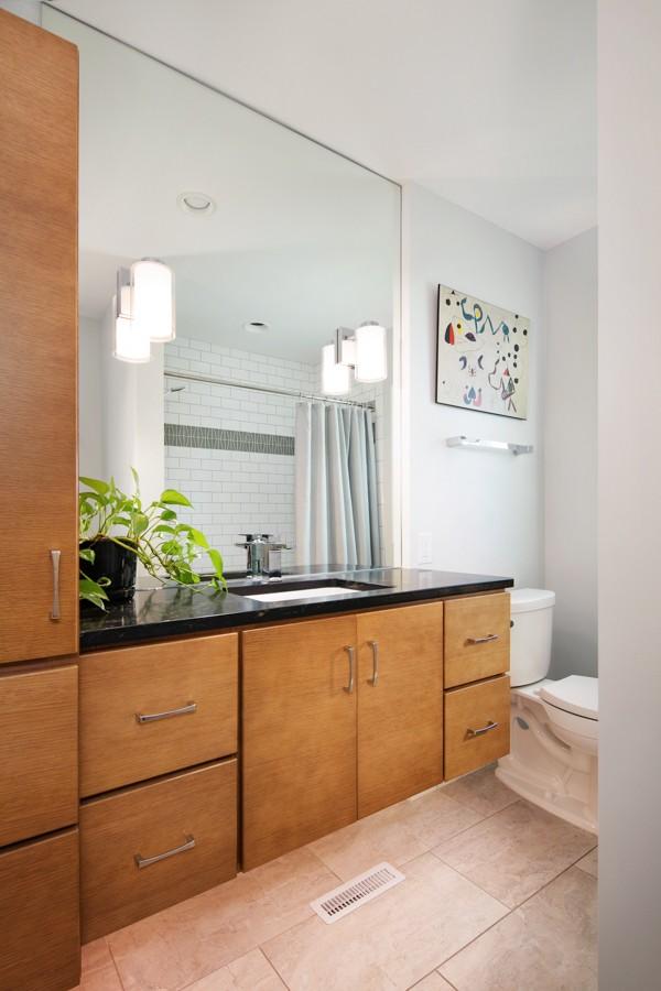 MID-CENTURY MODERN BATHROOM REMODEL » Omaha Remodeling and ...