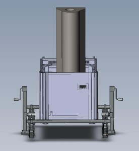 Lift Assembly for Electron Microscopy