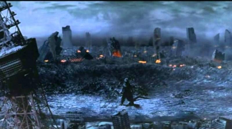 Godzilla Final Wars crater