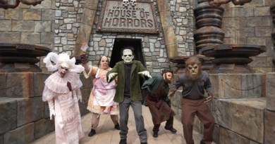 Best Los Angeles Halloween Theme Park Attractions