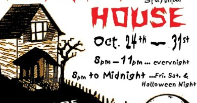 Theatre 68 haunted house