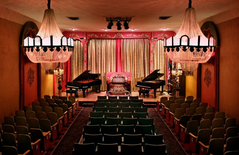 Old Town Music Hall interior