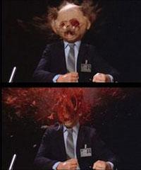 Excedrin headache #1 in Scanners (1980)