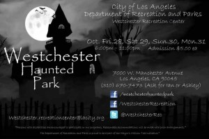Westchester Haunted Park ad