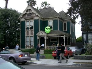 A Halloween Home Haunt in Angelino Heights