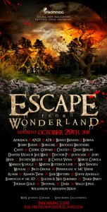 Escape from Wonderland ad art