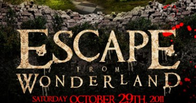 Escape from Wonderland ad art