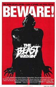 beast witnin poster