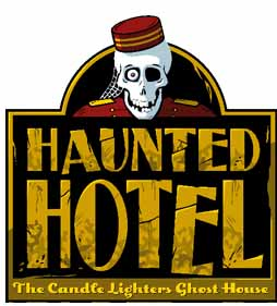 haunted hotel logo