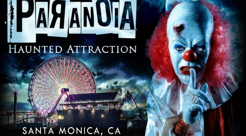 Paranoia Haunted Attraction flier