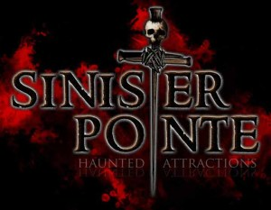 Sinister Pointe Title Treatment
