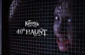 Knotts Berry Farm Halloween Haunt 40th anniversary advertising artwork