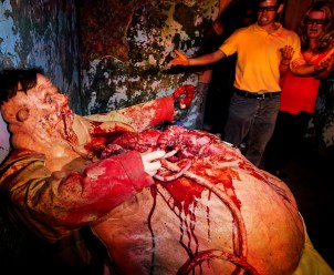 The Sin of Gluttony as seen in Alice Cooper Goes to Hell at Halloween Horror Nights 2012