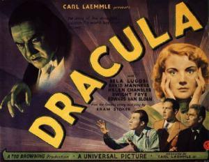 Dracula 1931 poster horizontal