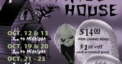 Theatre 68 7th annual haunted house