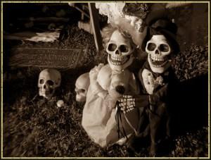 dia del los muertos in hollywood forever cemetery