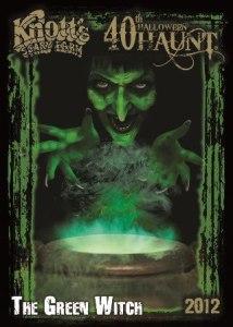 knotts vertical poster 2012 Halloween haunt