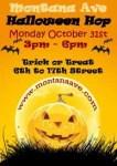 Montana Avenue Halloween Hop