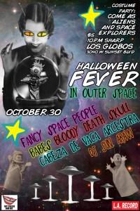 Halloween Fever poster 2012