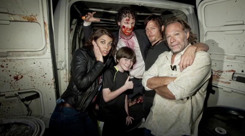 Halloween Horror Nights 2012 Walking Dead