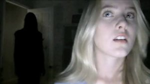 Paranormal Activity 4: scene from trailer, not included in film