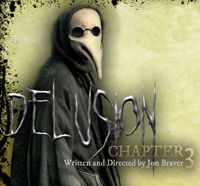 Early promotion art for what was later titled Delusion: Masque of Mortality
