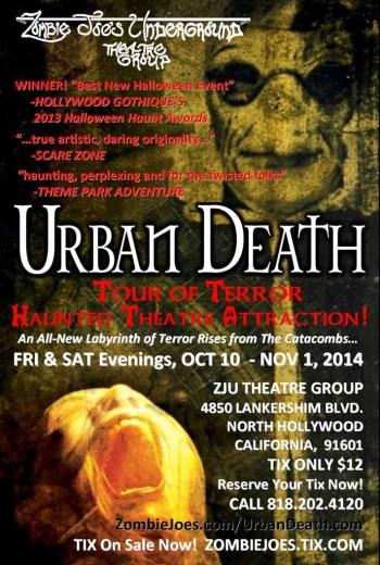 Urban Death Tour of Terror 2014