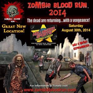 Zombie Blood Run ad