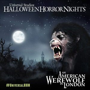 Halloween Hororr Nights 2014: American Werewolf in London maze