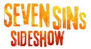 Los Angeles Haunted Hayride 2014 Review Seven Sins Sideshow logo