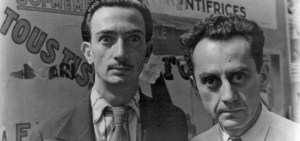 Salvador Dalí and Man Ray, June 16, 1934. Photo by Carl Van Vechten. Courtesy: Library of Congress, Prints & Photographs Division.