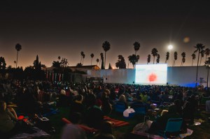 Cinespia screening Hollywood Forever Cemetery