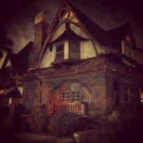 The house of reclusive fantasy author Elena Fitzgerald.