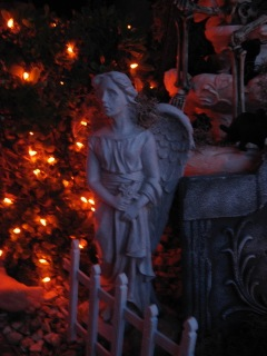 Haunting in Sylmar angel statue