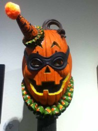 October Shadows 2014: Jack O'Lantern head