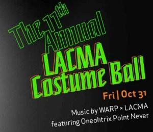 LACMA costume ball 2014