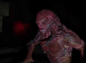 A demon Los Angeles Haunted Hayride 2014 Review