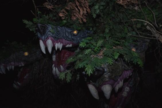 Los Angeles Haunted Hayride 2014: Cerberus 3 heads by Storm Santos