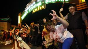 Zombie Crawl on Santa Monica Pier