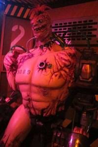 A cyborg inside the Backwoods Maze