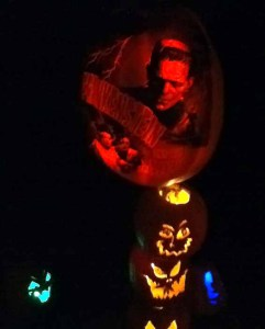 Rise of the Jack O'Lanterns 2014: Frankenstein Jack O'Lantern